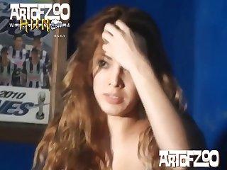 Redhead Minx Ariel's Strip Show