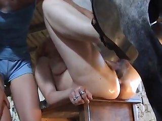 Horse Blonde Fuck